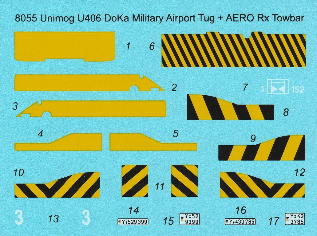 CMK-8055-Unimog-DoKa-Schlepper-9 CMK Unimog DoKa Flugzeug (und Hubschrauber-) schlepper in 1:48 #8055