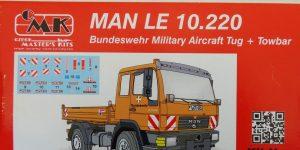 MAN LE 10.220 Flugzeugschlepper in 1:48 von CMK #8056