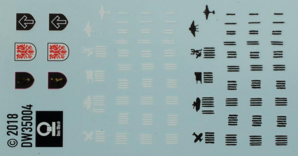 Decals-5 3cm Flakvierling 103/38 1:35 Das Werk (#DW35004)