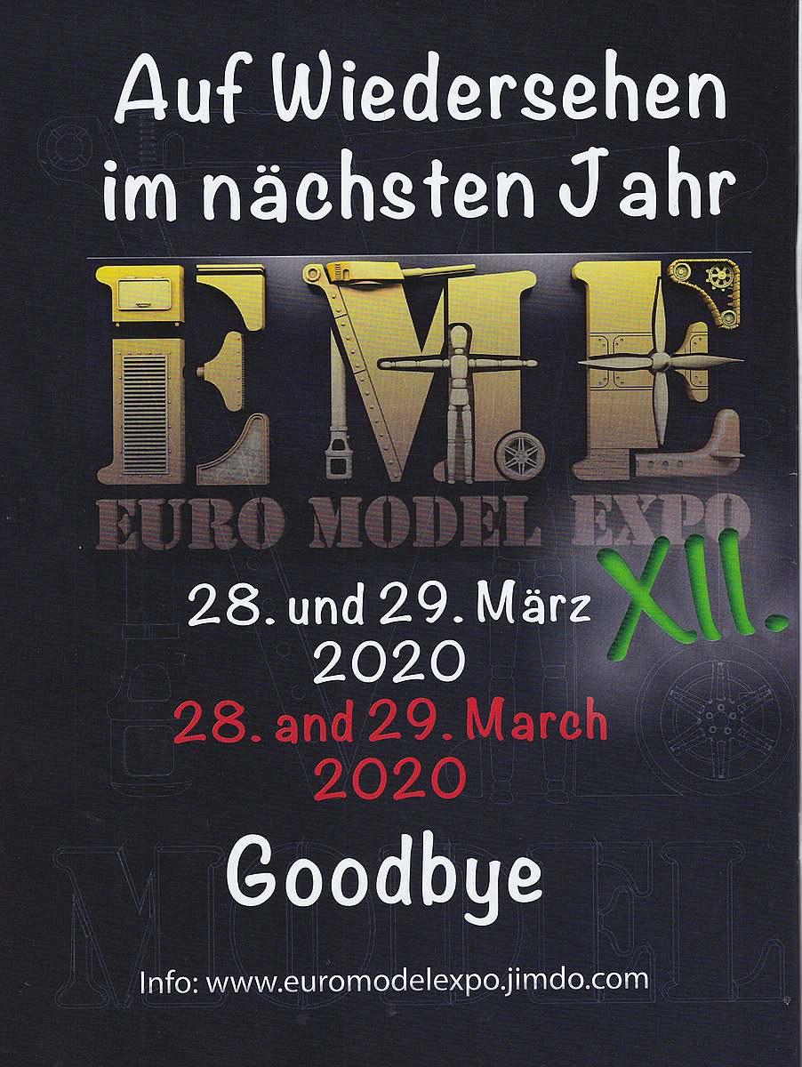 EME-2020 EuroModellExpo 2019 - die Bilder