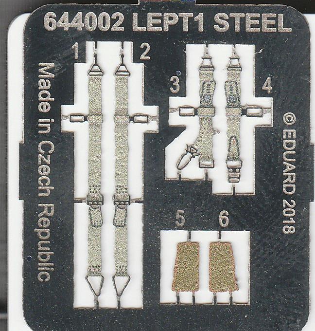 Eduard-644002-FW-190-A-5-LÖÖK-3 Löök-Set 644002 für die FW 190 A-5 in 1:48