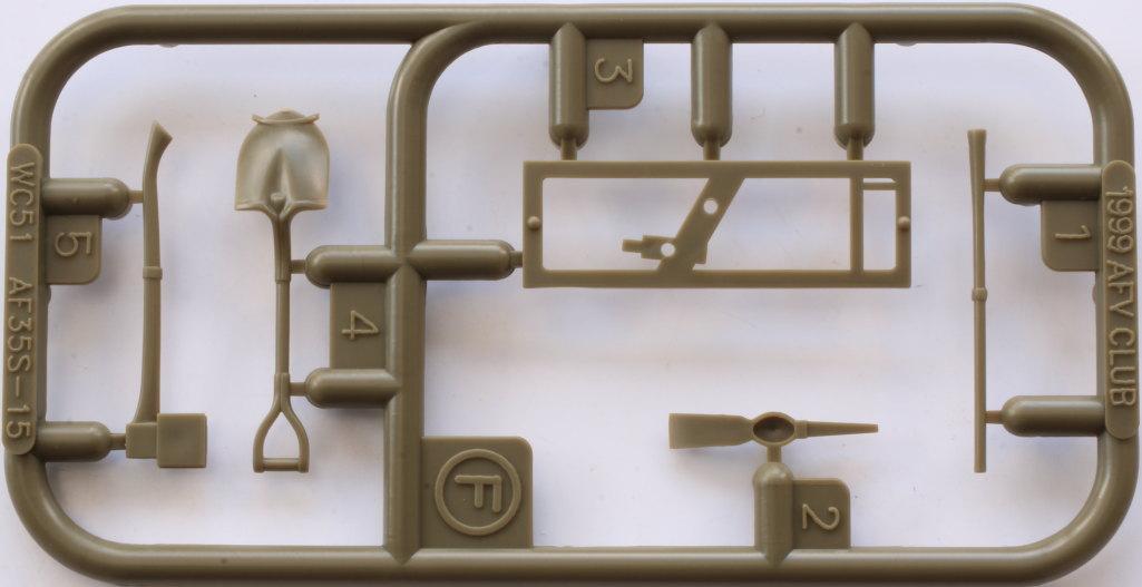 FFFF M54A2 5-Ton 6x6 Cargo Truck 1:35 AFV Club (#AF35300)