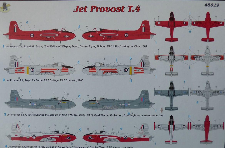 FLY-48019-Jet-Provost-19 Fly Jet-Provost T 4 in 1:48 von FLY # 48019