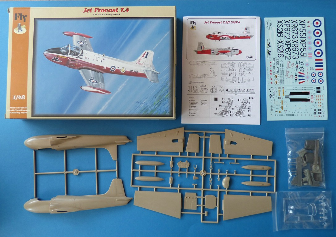FLY-48019-Jet-Provost-2 Fly Jet-Provost T 4 in 1:48 von FLY # 48019