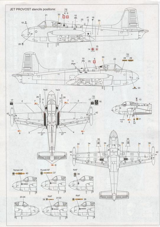 FLY-48019-Jet-Provost-20 Fly Jet-Provost T 4 in 1:48 von FLY # 48019