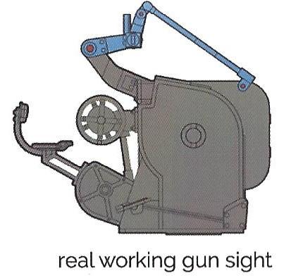 Gunsight 3cm Flakvierling 103/38 1:35 Das Werk (#DW35004)