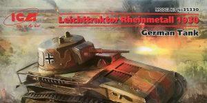 Leichttraktor Rheinmetall 1930 in 1:35 von ICM # 35330