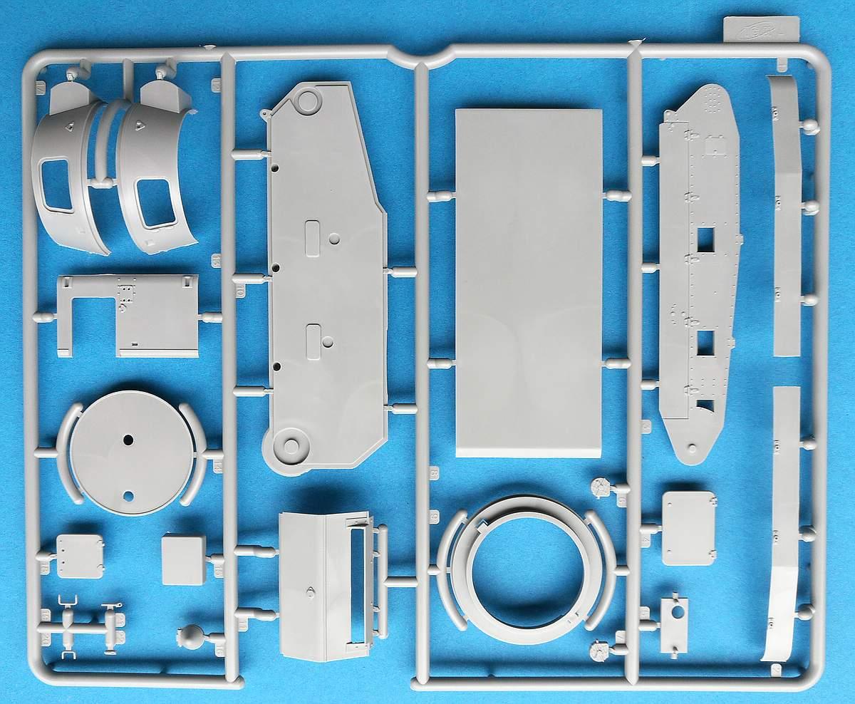 ICM-35330-Leichttraktor-Rheinmetall-1930-38 Leichttraktor Rheinmetall 1930 in 1:35 von ICM # 35330