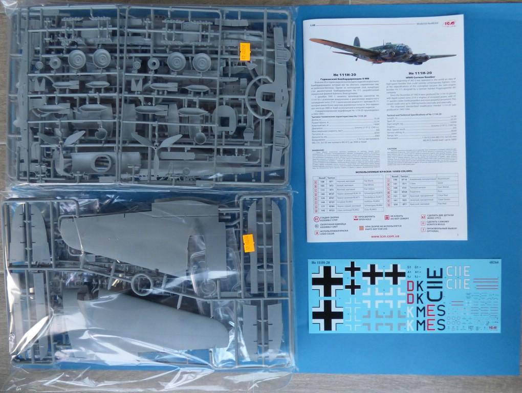 ICM-48264-Heinkel-He-111-H-20-13 Heinkel 111 H-20 in 1:48 von ICM #48264