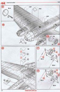 ICM-48264-Heinkel-He-111-H-20-60-197x300 ICM 48264 Heinkel He 111 H-20 (60)