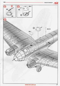 ICM-48264-Heinkel-He-111-H-20-65-212x300 ICM 48264 Heinkel He 111 H-20 (65)
