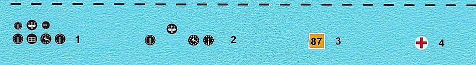 ICM-D3201-Bücker-Bü-131D-WW-II-Axis-2 Decals für die Bücker Bü 131D von ICM D32001