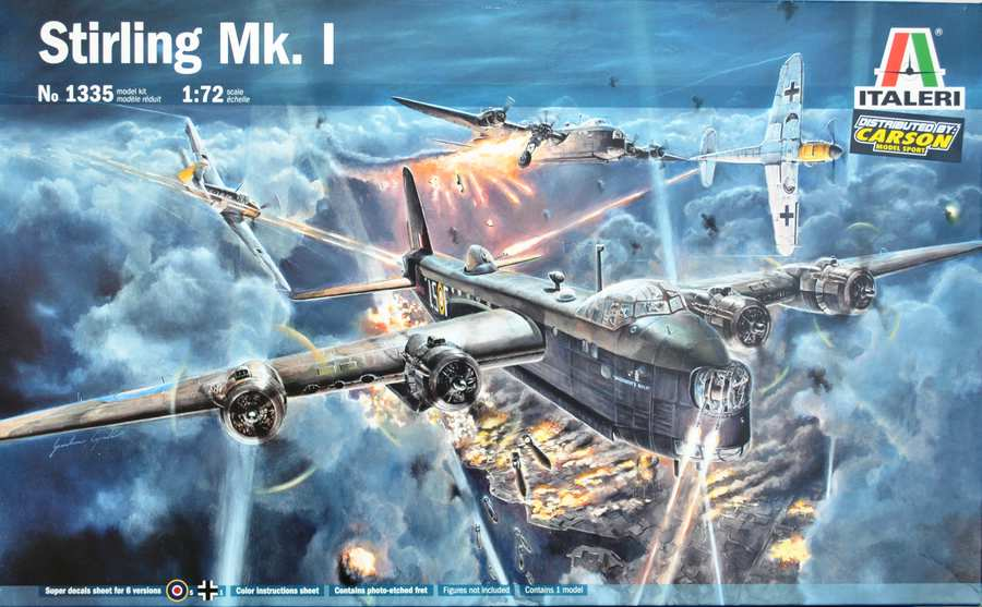 Italeri-Short-Stirling-Mk.-I-34 Short Stirling Mk. I im Maßstab 1:72 (Italeri 1335)