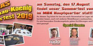 Sommerfest 2019 bei Modellbau König 17. August