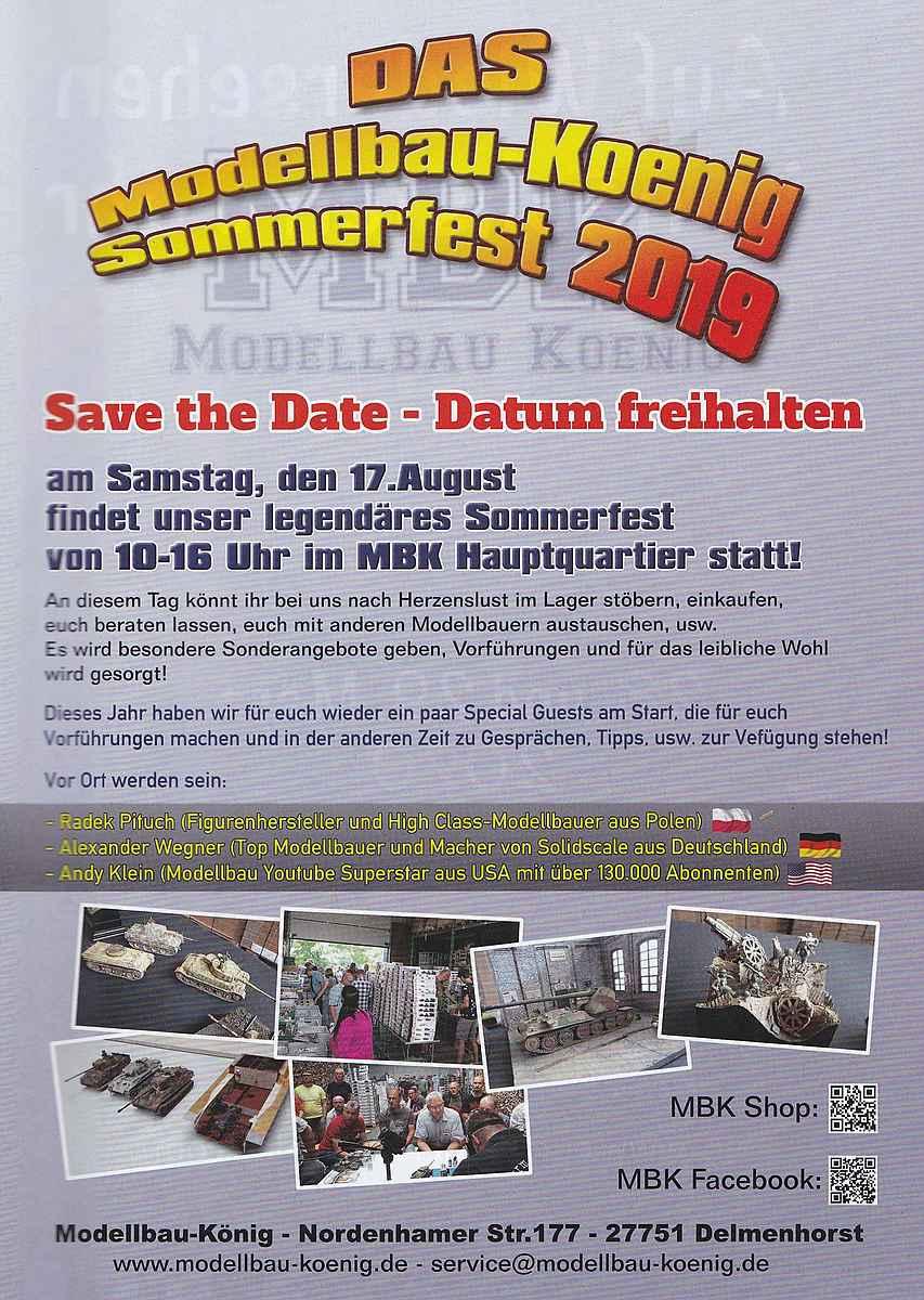 MBK-Sommerfest-2019 Sommerfest 2019 bei Modellbau König 17. August
