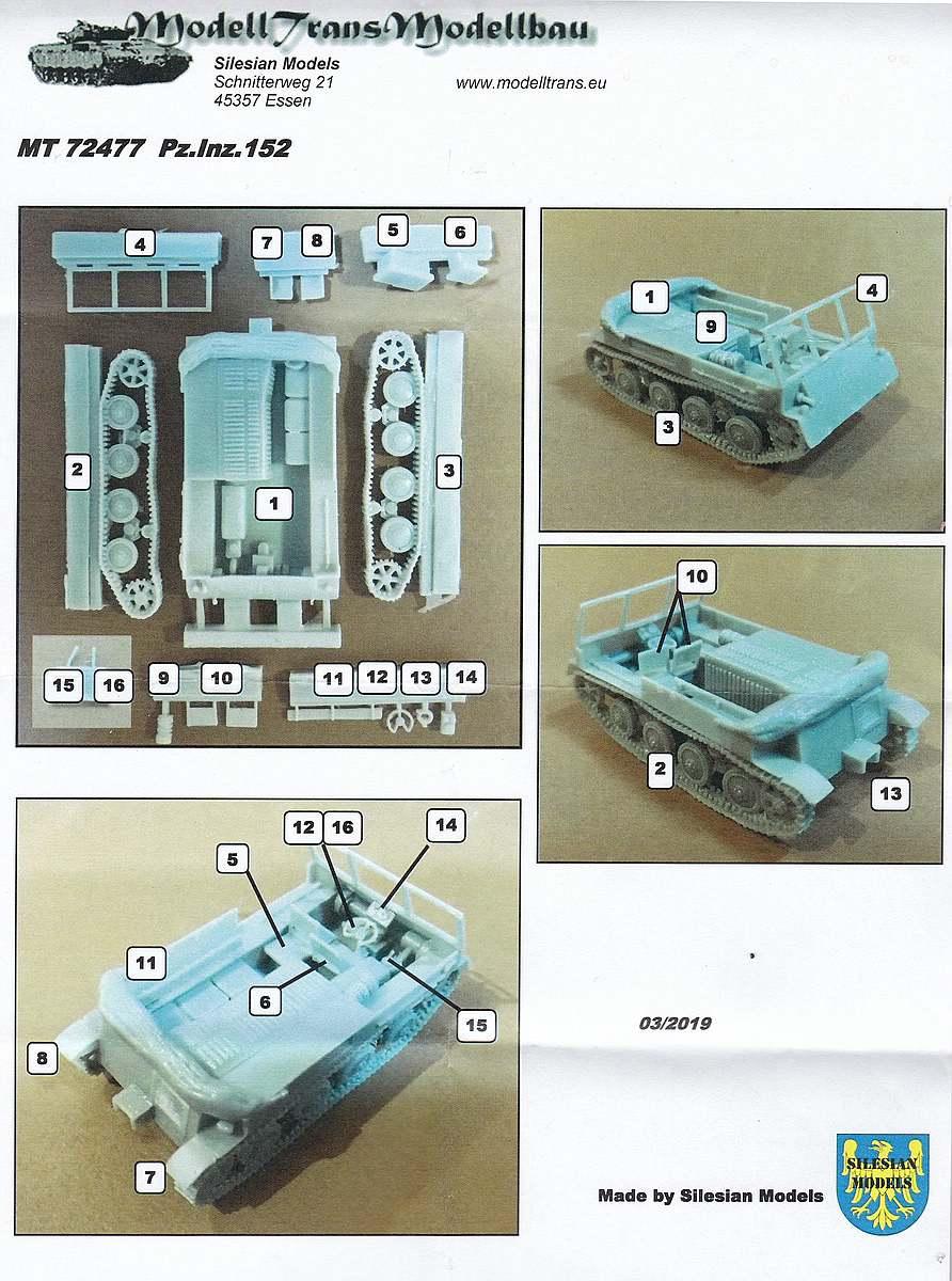 ModellTrans-MT-72477-Pz.Inz_.-152-Polish-Artillery-Tractor-1 Pz.Inz. 152 Polish Artillery Tractor in 1:72 ModellTrans MT 72477