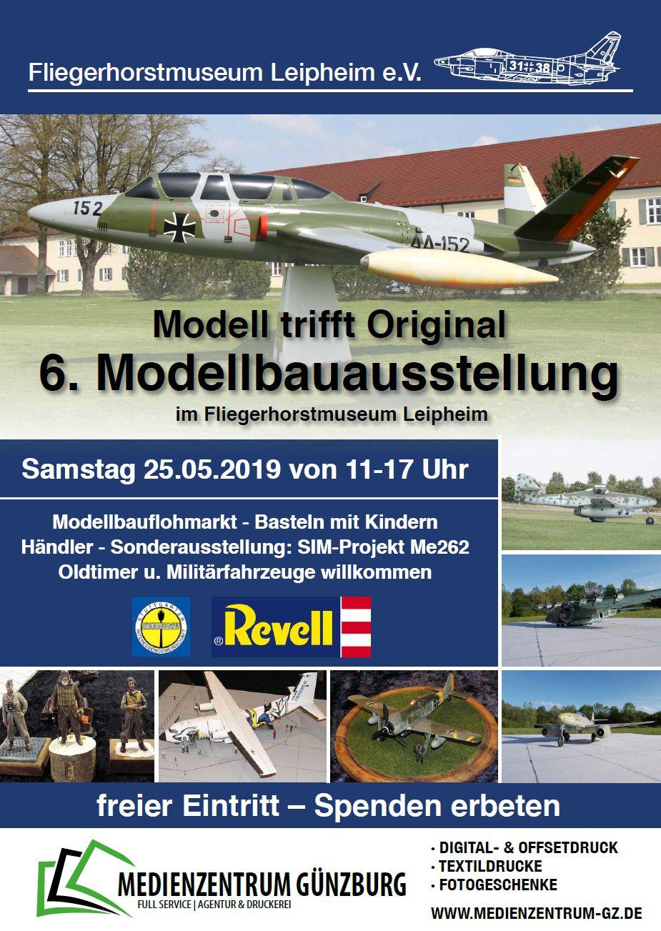 Modellbauausstellung-Leipheim-2019-6 Nicht vergessen: Modell trifft Original am 25. Mai!
