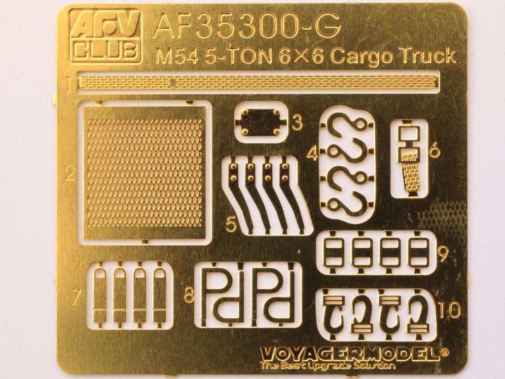 PE-4 M54A2 5-Ton 6x6 Cargo Truck 1:35 AFV Club (#AF35300)