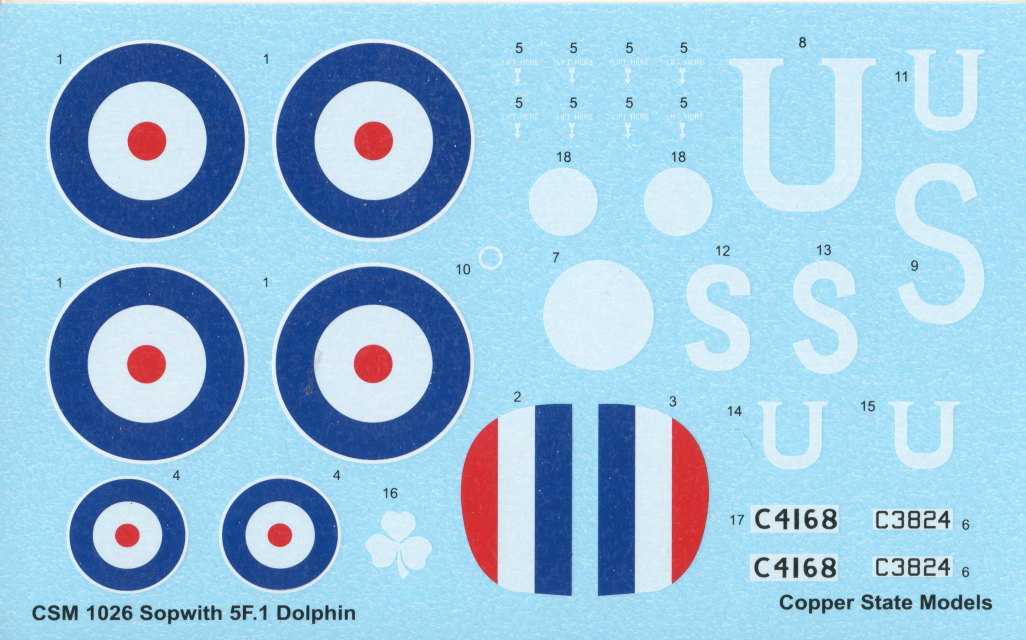 Review_CSM_DOLPHIN_19 Sopwith 5F.1 Dolphin - Copper State Models 1/48