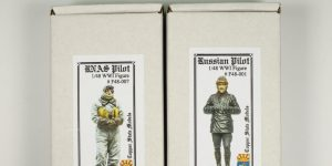 "Figuren – WWI ""Russian Pilot"" und ""RNAS Pilot"" – Copper State Models 1/48"