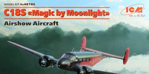 "C18S Twin Beech ""Magic by Moonlight"" – ICM 1/48 — #48186"