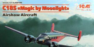 "C18S Twin Beech ""Magic by Moonlight"" – ICM 1/48 — #48186"
