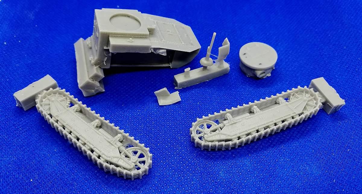 TASModels-TM-014-T1E2-Cunningham-4 US Panzer Cunningham T1E2 in 1:72 TASModels TM 014