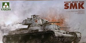 Soviet Heavy Tank SMK in 1:35 von TAKOM # 2112