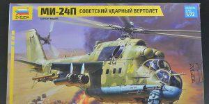 Mil Mi-24P in 1:72 von Zvezda # 7315