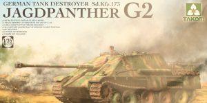 German Tank Destroyer Sd.Kfz. 173 Jagdpanther G2 1:35 Takom (#2118)