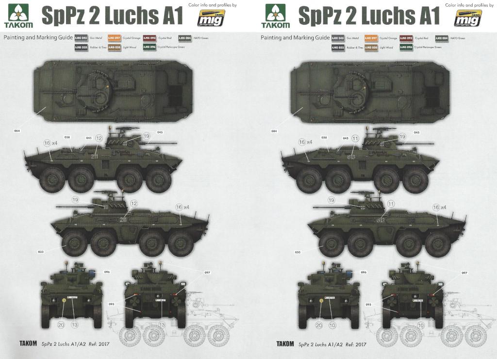 mark0 SpPz 2 Luchs A1/A2 1:35 Takom (#2017)