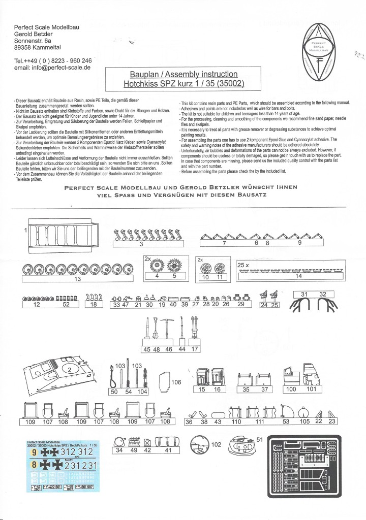 scan1750 Hotchkiss SPZ kurz 1:35 Perfect Scale (#35002)