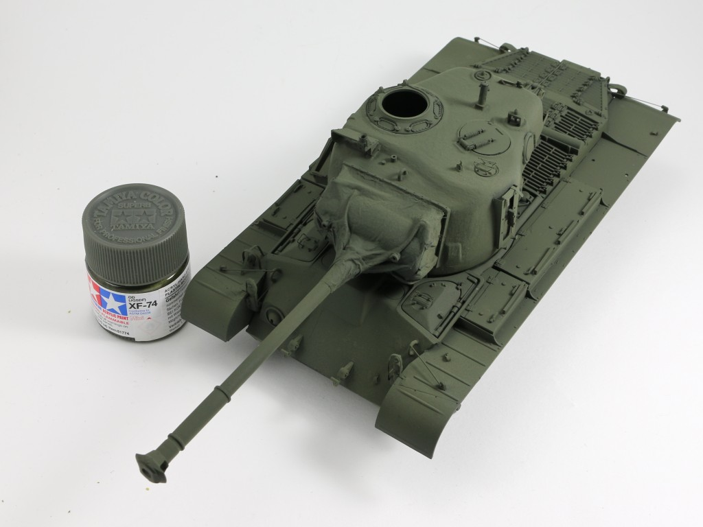 09 Build Review : M46 Patton in Korea 1:35 Dragon/Cyber Hobby