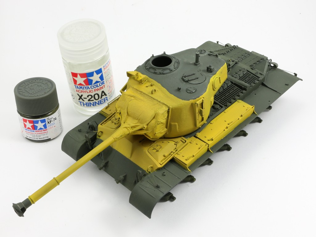 14 Build Review : M46 Patton in Korea 1:35 Dragon/Cyber Hobby