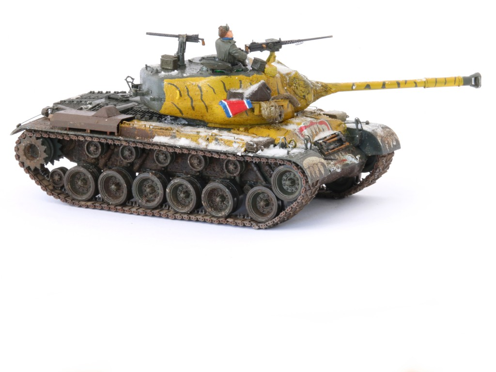 B Build Review : M46 Patton in Korea 1:35 Dragon/Cyber Hobby