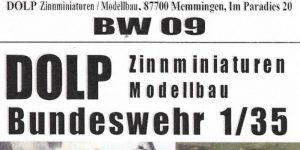Fahrer und Kommandant für Marder/Wiesel/Luchs 1:35 Dolp (BW 09)