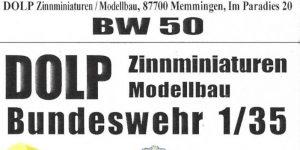 Leo 2 Besatzung 1:35 Dolp Modellbau (#BW50)