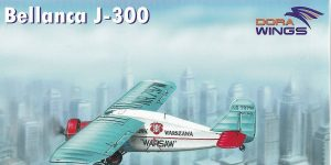Bellanca J-300 in 1:72 von Dora Wings # 72012