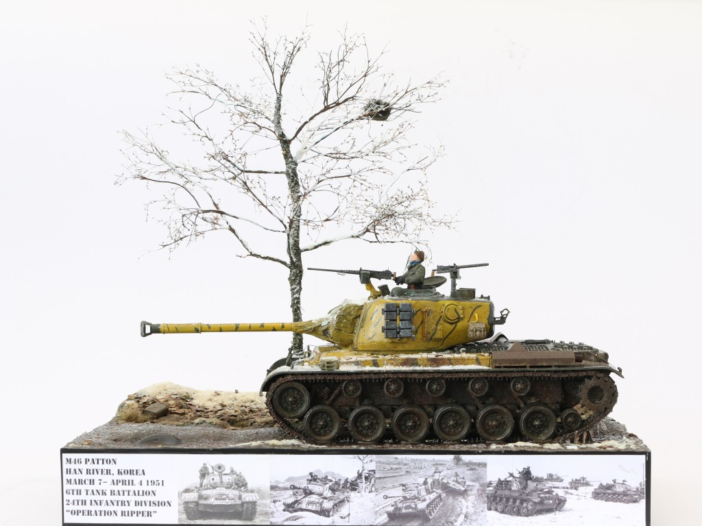 H Build Review : M46 Patton in Korea 1:35 Dragon/Cyber Hobby
