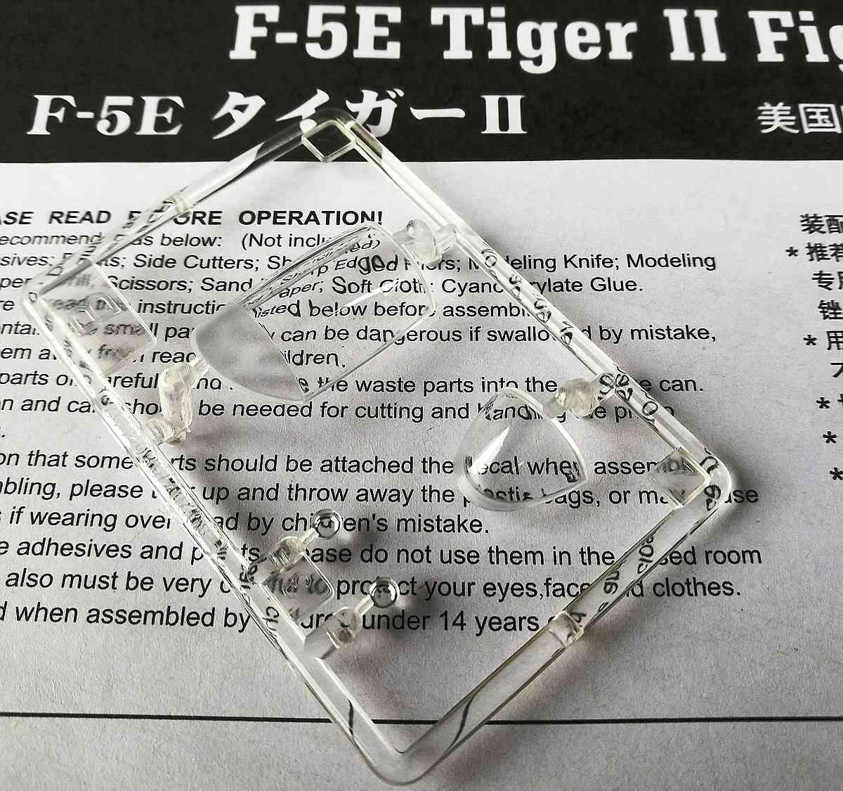 HobbyBoss-80207-F-5E-Tiger-II-26 F-5E Tiger II in 1:72 von Hobby Boss 80207