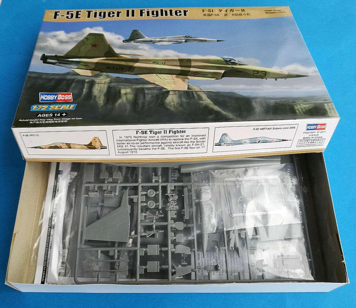 HobbyBoss-80207-F-5E-Tiger-II-6 F-5E Tiger II in 1:72 von Hobby Boss 80207