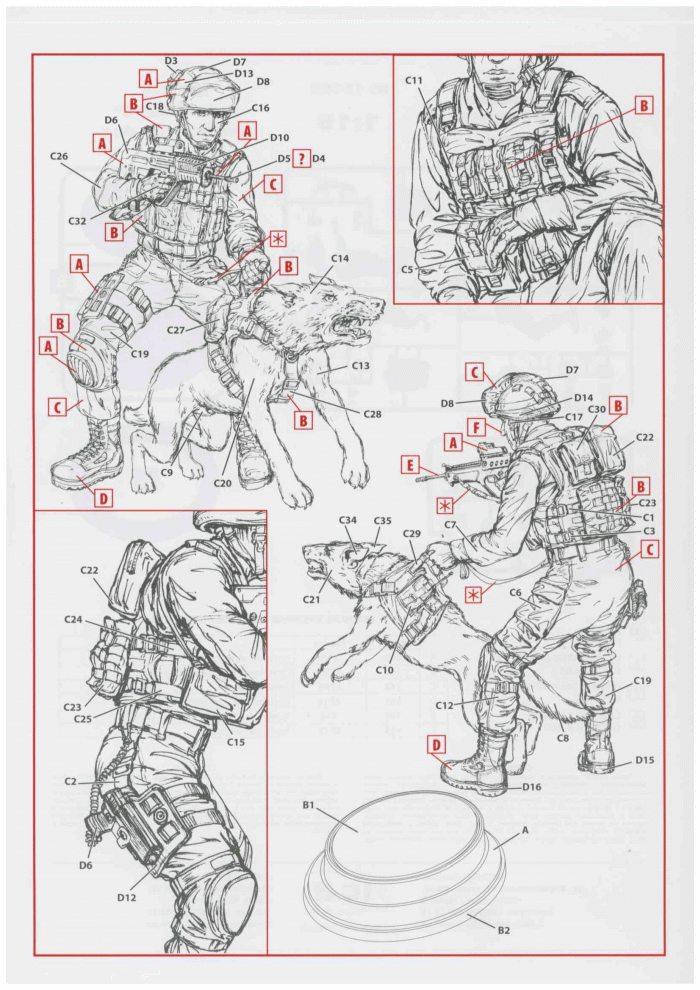 ICM-16102-IDF-K-9-OKETZ-Anleitung2 IDF K-9 unit Oketz im Maßstab 1:16 von ICM # 16102