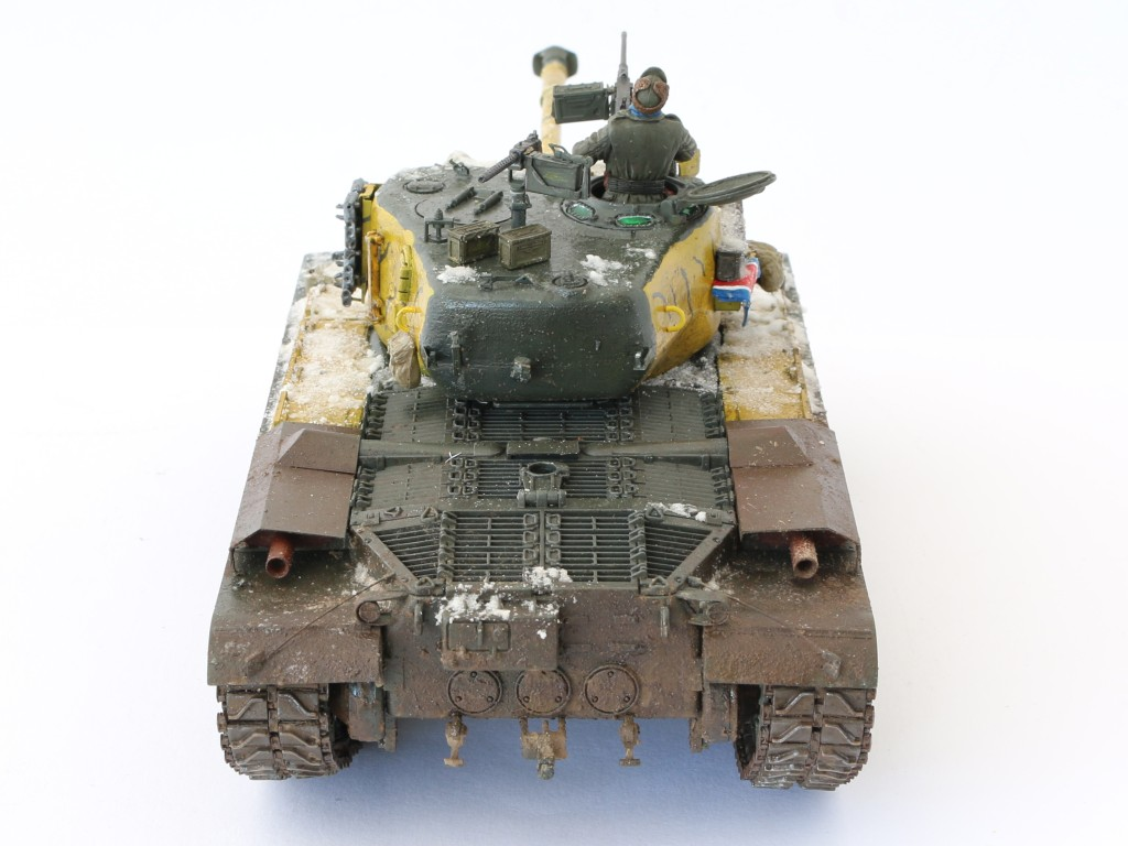 J Build Review : M46 Patton in Korea 1:35 Dragon/Cyber Hobby