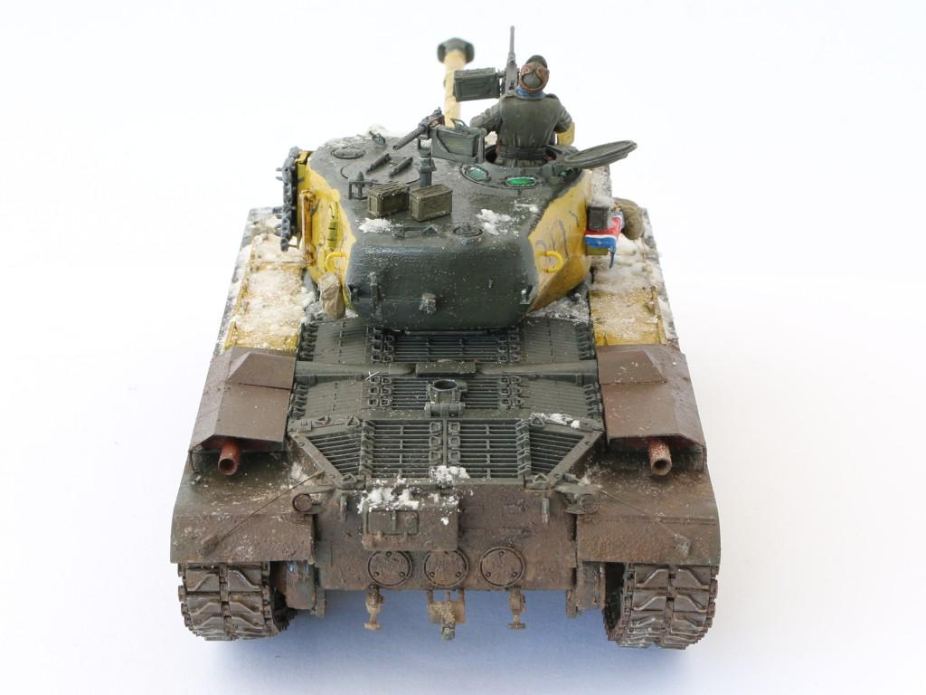 J Build Review : M46 Patton in Korea 1:35 Dragon/Cyber Hobby