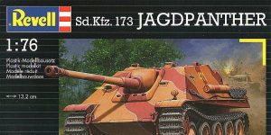 Kit-Archäologie: Jagdpanther von Matchbox/Revell in 1:76 gebaut