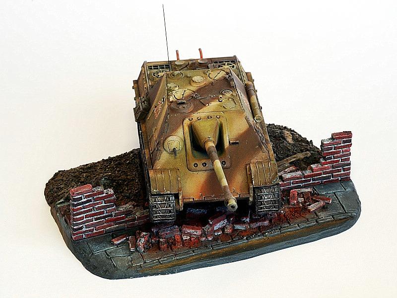 Jagdpanther-Revell-Matchbox-Jürgen-Crepin-7 Kit-Archäologie: Jagdpanther von Matchbox/Revell in 1:76 gebaut