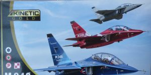 Alenia-Aermacchi M-346 in 1:48 Kinetic Gold 48063