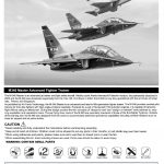 Kinetic-48063-M-346-Trainer-Bauanleitung-1-150x150 Alenia-Aermacchi M-346 in 1:48 Kinetic Gold 48063