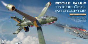Focke Wulf Triebflügel in 1:35 von MiniArt