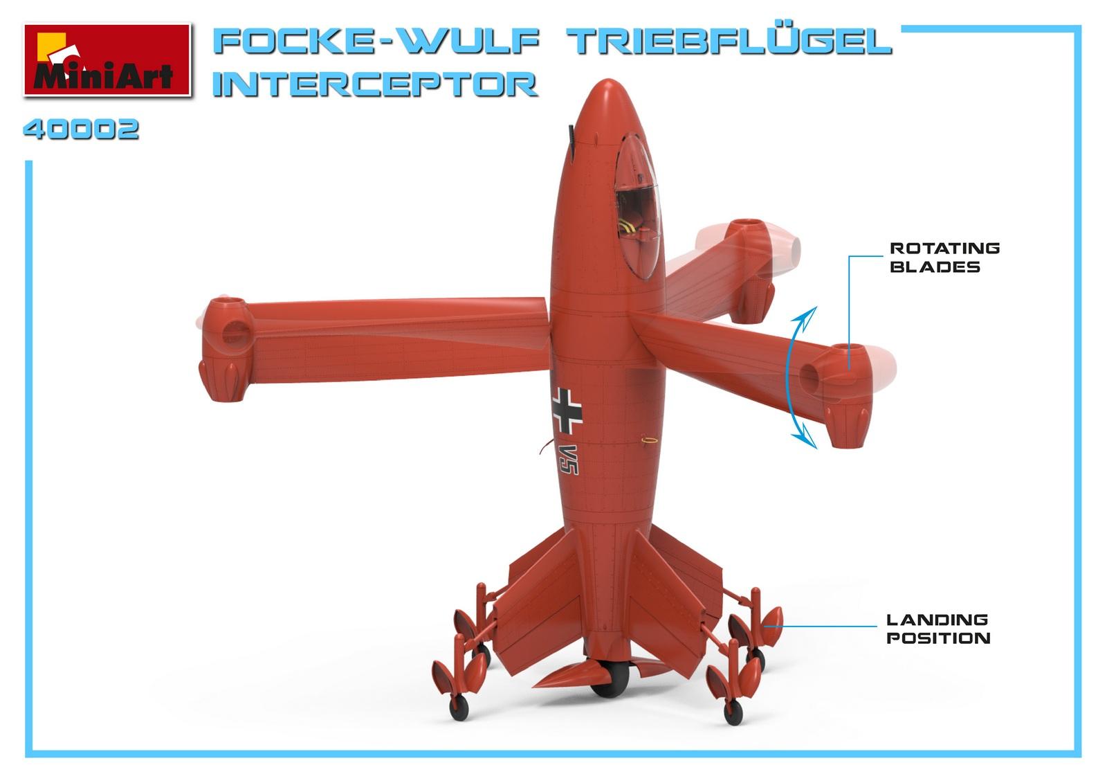 MiniArt-40002-Focke-Wulf-Triebflügel-3 Focke Wulf Triebflügel in 1:35 von MiniArt